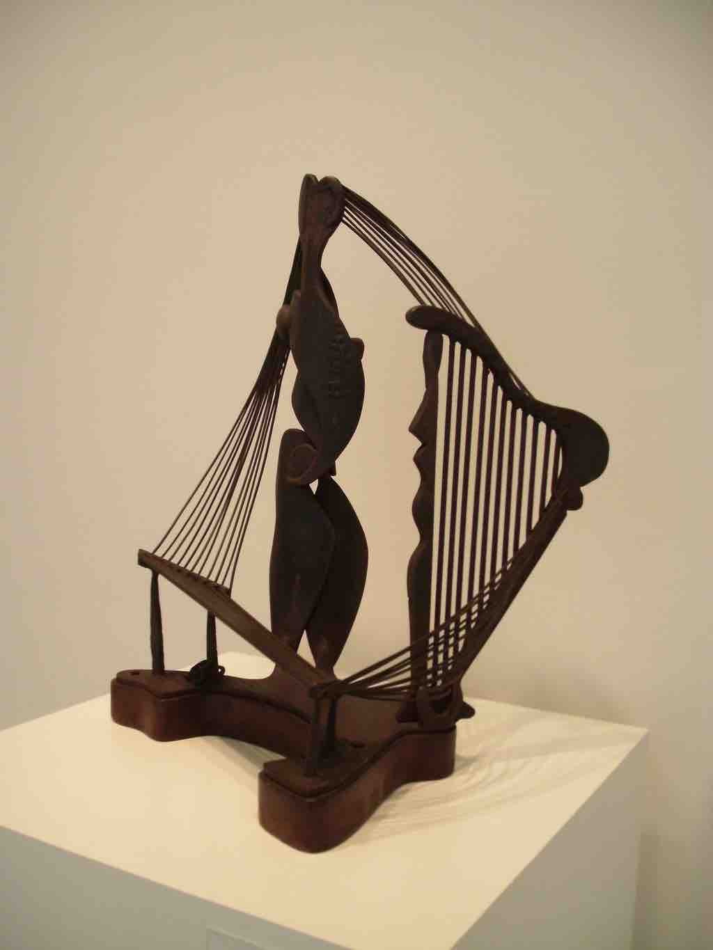 Abstract expressionist sculpture david smith ancient household 1945