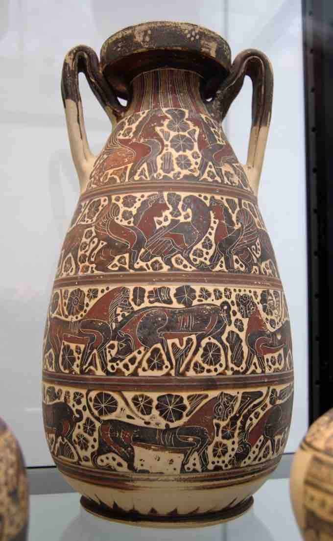 Vase Painting In The Orientalizing Period