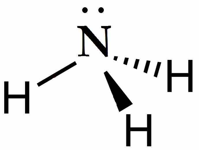 Image The Lewis Dot Structure For Ammonia Nh3